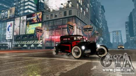 Smith 34 Hot Rod für GTA 4 hinten links Ansicht