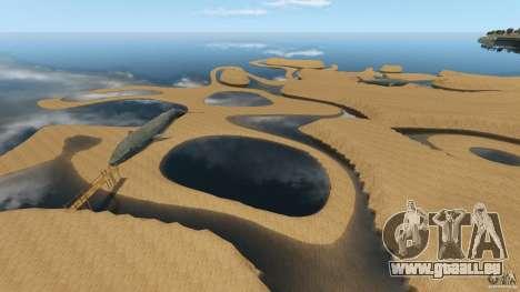 Wüste Gobi für GTA 4 siebten Screenshot