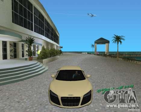 Audi R8 5.2 Fsi pour une vue GTA Vice City de la droite