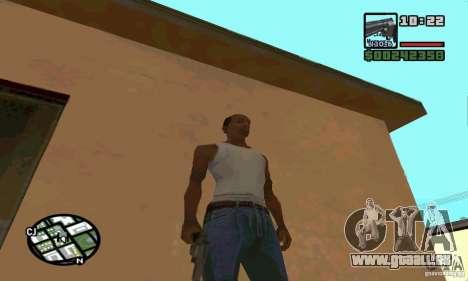 K.44 Magnum (Chrome) für GTA San Andreas fünften Screenshot