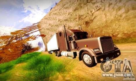 Freightliner Classic XL pour GTA San Andreas vue intérieure