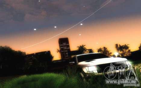Ford Raptor Crewcab 2012 für GTA San Andreas Rückansicht
