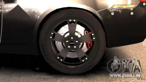 NFSOL State Police Car pour GTA 4 Vue arrière