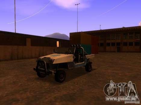 Camionnette de T3 pour GTA San Andreas