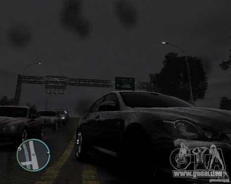 Jaguar XF-R pour GTA 4 est un droit