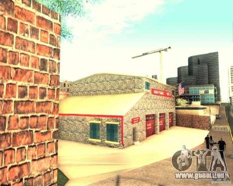 Eine neue Feuerwache in San Fierro für GTA San Andreas dritten Screenshot