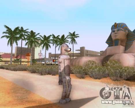 Futurama pour GTA San Andreas deuxième écran