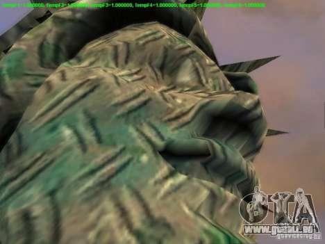 Statue de la liberté 2013 pour GTA San Andreas dixième écran