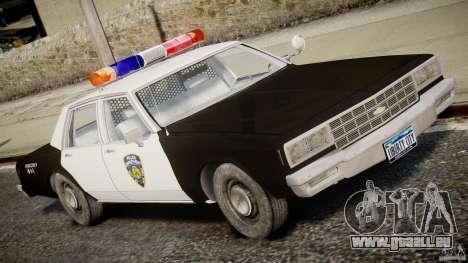 Chevrolet Impala Police 1983 pour GTA 4