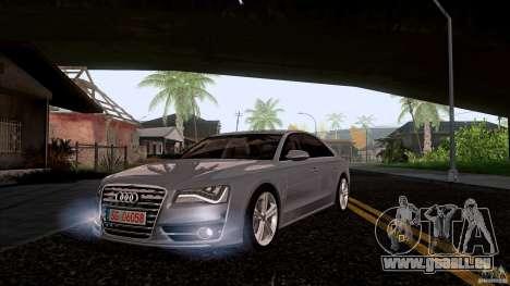 Audi S8 2012 pour GTA San Andreas