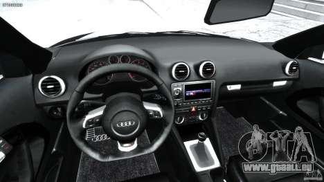 Audi S3 pour GTA 4 Vue arrière