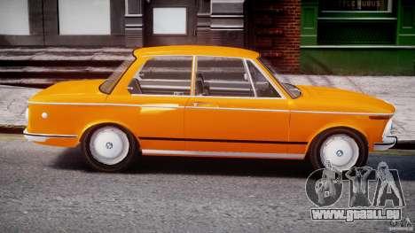 BMW 2002 1972 pour GTA 4 est un côté