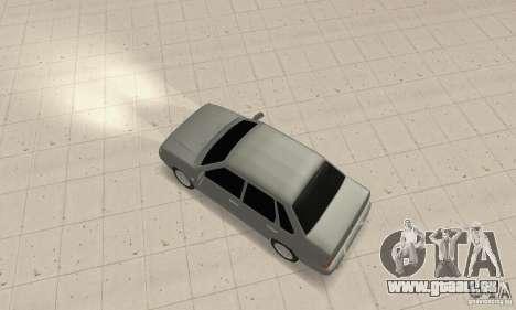 VAZ 2115 TUN für GTA San Andreas zurück linke Ansicht