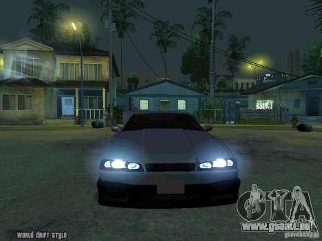 ELEGY BY CREDDY für GTA San Andreas Rückansicht