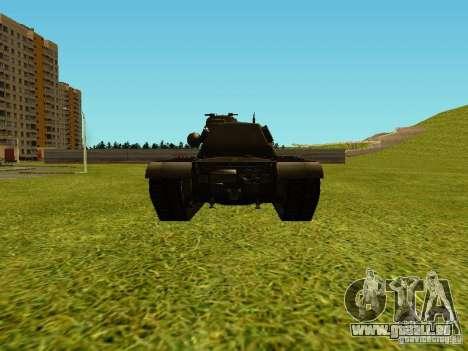 T-110E5 pour GTA San Andreas vue de droite