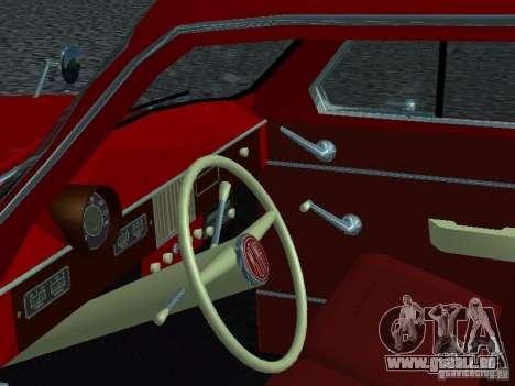 Moskvich 430 pour GTA San Andreas vue arrière