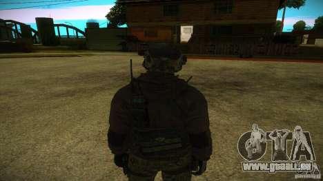 Sandman pour GTA San Andreas deuxième écran