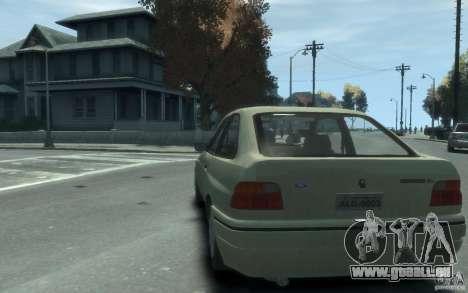 Ford Escort L 1994 für GTA 4 hinten links Ansicht