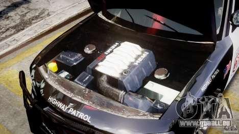 Dodge Charger NYPD Police v1.3 pour GTA 4 est une vue de l'intérieur