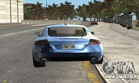 Audi TT 2006 pour GTA San Andreas vue de droite