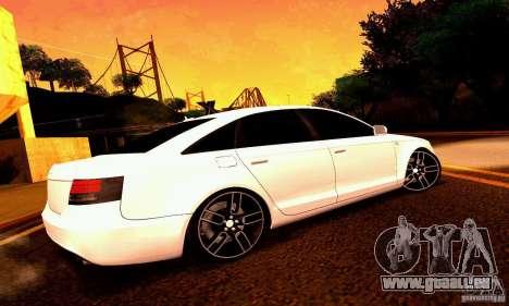 Audi A6 Blackstar pour GTA San Andreas roue