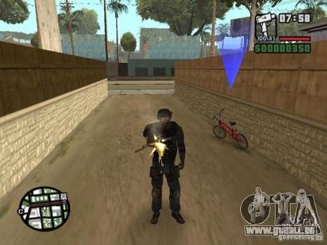Commando de la SWAT 4 pour GTA San Andreas troisième écran