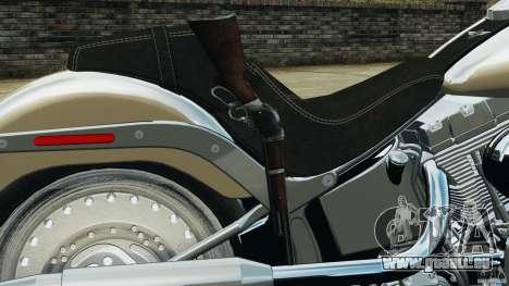 Harley Davidson Softail Fat Boy 2013 v1.0 pour GTA 4 vue de dessus