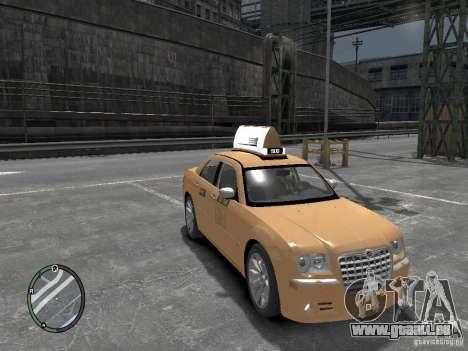 Chrysler 300c Taxi v.2.0 für GTA 4 rechte Ansicht