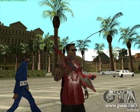 Blood Weapons Pack pour GTA San Andreas dixième écran