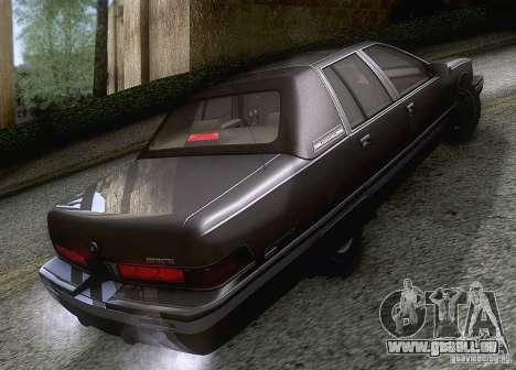 Buick Roadmaster 1996 für GTA San Andreas rechten Ansicht