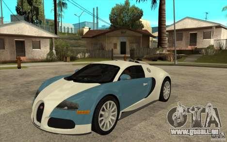 Bugatti Veyron Final für GTA San Andreas