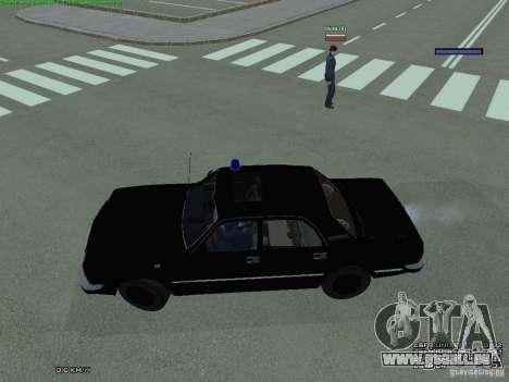 Volga fédéral pour GTA San Andreas laissé vue