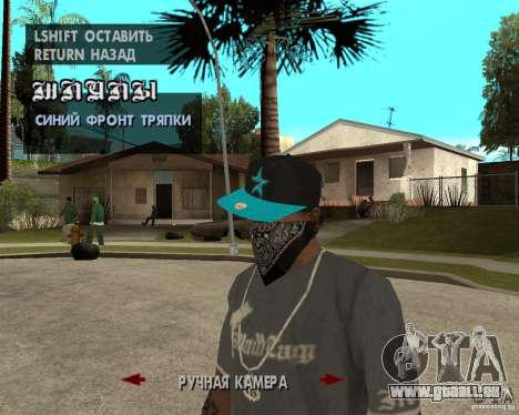 Hip-Hop caps für GTA San Andreas sechsten Screenshot