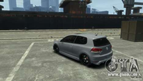 Volkswagen Golf GTI pour GTA 4 est un droit