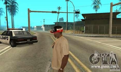 New Era Cap pour GTA San Andreas quatrième écran