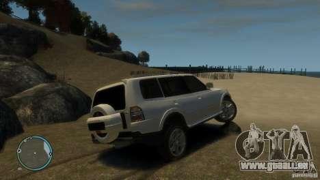 Mitsubishi Pajero Wagon pour GTA 4 est un droit