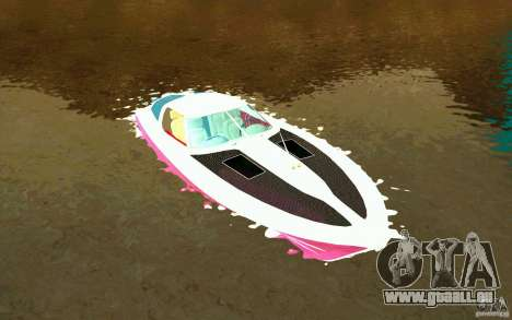 Mamba Speedboat pour GTA San Andreas