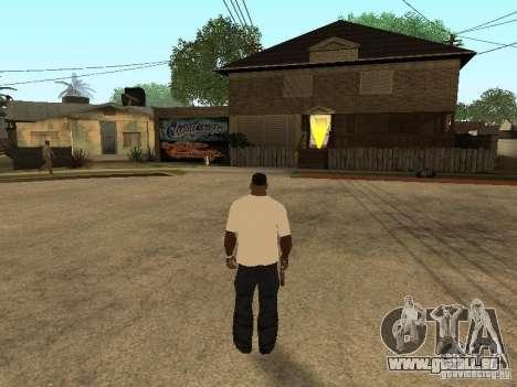 T-Shirt mit Gras für GTA San Andreas her Screenshot