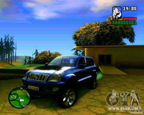 Toyota Land Cruiser Prado 120 pour GTA San Andreas