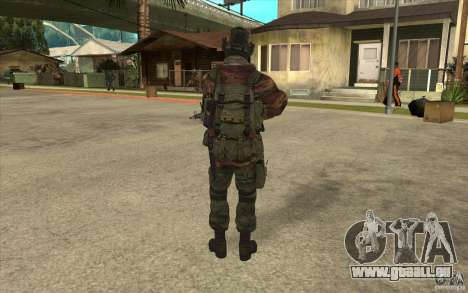 Special Forces-Flag für GTA San Andreas dritten Screenshot