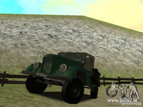 GAZ 69 APA 12 für GTA San Andreas