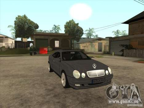 Mercedes-Benz CLK320 Coupe pour GTA San Andreas vue arrière