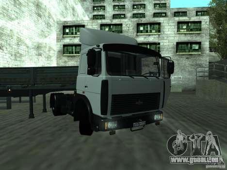 MAZ 5432 für GTA San Andreas