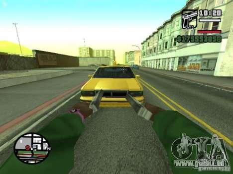 Erste Person (First-Person-mod) für GTA San Andreas neunten Screenshot