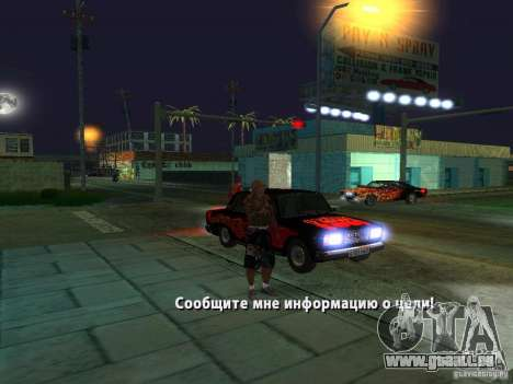 Killer Mod pour GTA San Andreas sixième écran