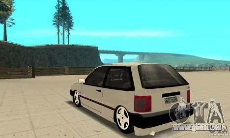 Fiat Tipo 2.0 16V 1995 pour GTA San Andreas sur la vue arrière gauche