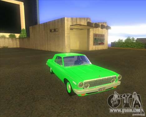Dodge 330 1963 Max Wedge Ramcharger pour GTA San Andreas