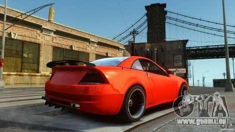 Feltzer DriftTec pour GTA 4 Vue arrière de la gauche