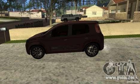 Fiat Novo Uno Sporting für GTA San Andreas rechten Ansicht