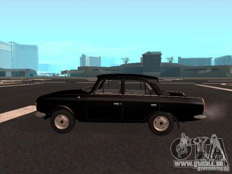Moskvich 412 für GTA San Andreas linke Ansicht